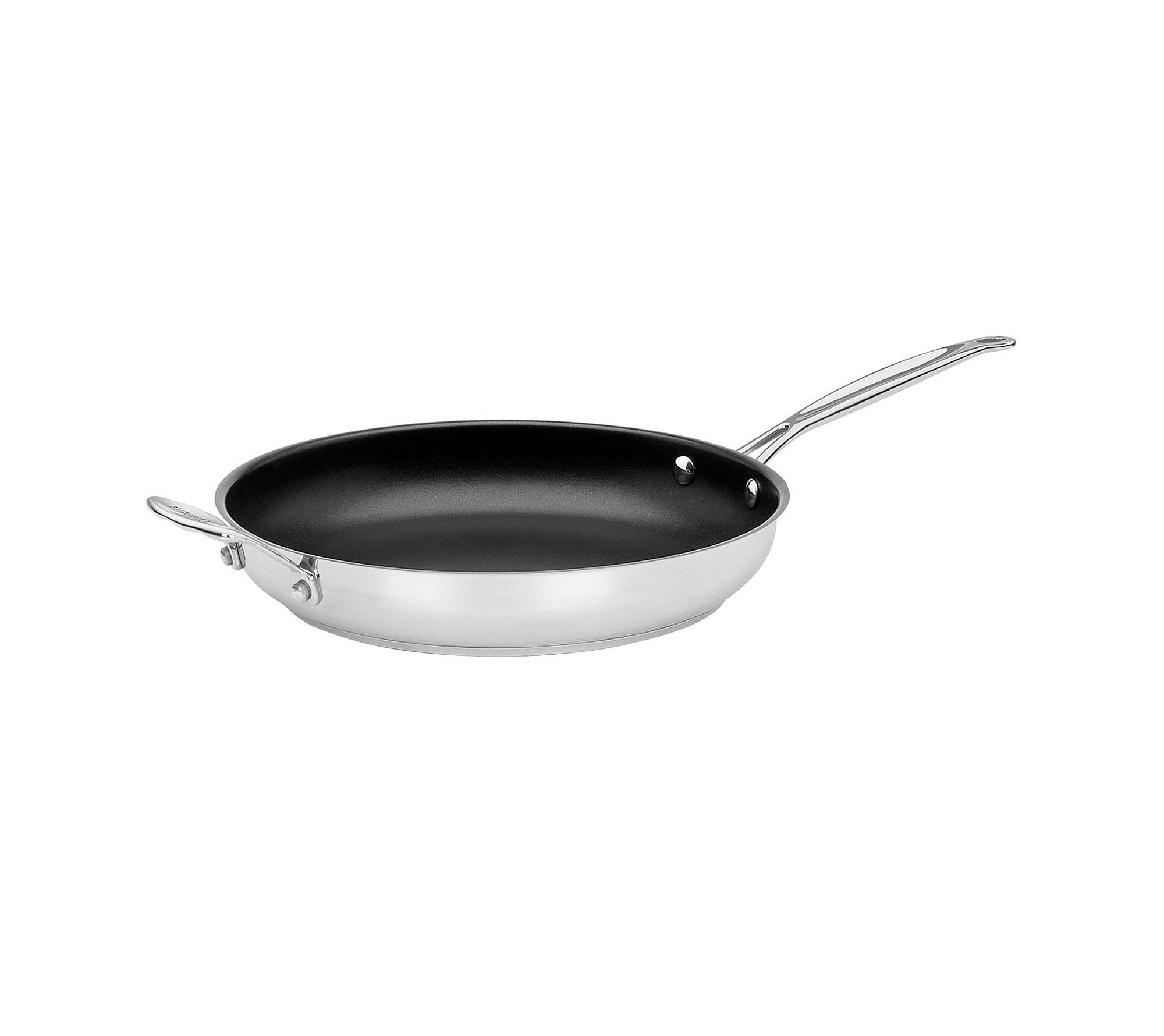 Cuisinart Chef's Classic Stainless 12'' Non-Stick Skillet