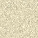 York Wallcoverings VE7122 Patina Vie Metalwork Emboss Wallpaper, Browns