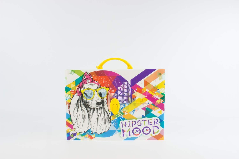Formato 36.5 x 56.5 x 5.5 cm in Polionda con Stampa Color Fun Verde BALMAR 2000 PF14235COLOR2 Valigetta Design 235Color