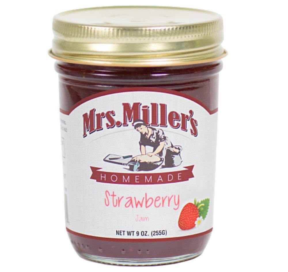 Mrs. Miller's Homemade Strawberry Jam