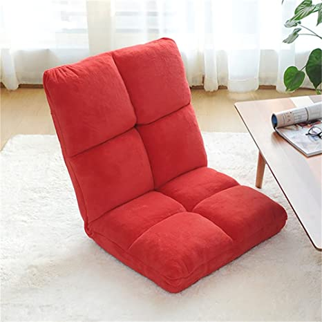 Amazon.com: Junzh - Silla de sofá cama de respaldo de tela ...