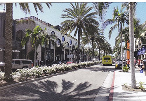 USNATMON04 - Rodeo Drive - Los Angeles, CA - A US National Monuments Postcard featuring America's most famous national monuments and man made landmarks .. .. from HibiscusExpress