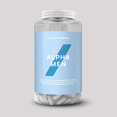 MyProtein Alpha Men Super Multi Vitamin Fórmula Multivitamínica - 120 Tabletas