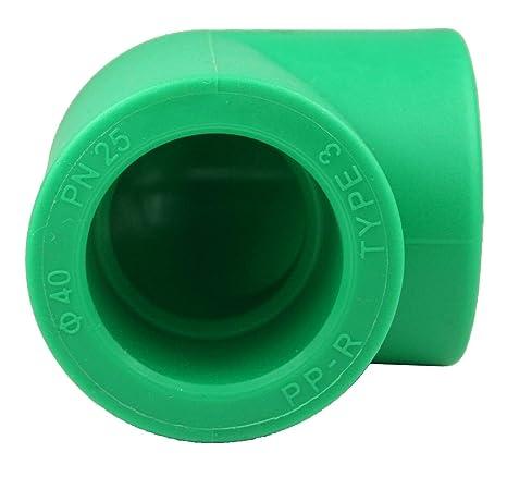 PPR Aqua Plus 90 ° ángulo con 40 mm de diámetro, fusiot herm