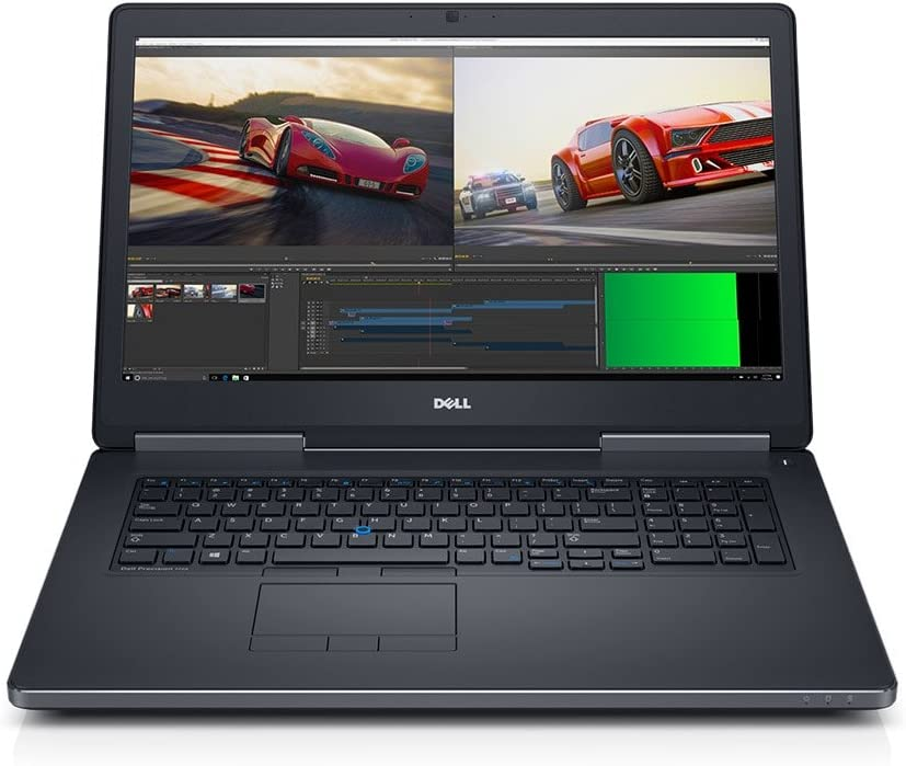 "Dell Precision M7720 7720 Mobile Workstation, 17.3"" HD+ (1600 x 900) LCD, Intel Core i7-6920HQ, 16GB DDR4 Ram, 512GB SSD, Radeon Pro WX 4130 Graphics, Windows 10 Professional (Certified Refurbished)"