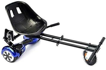 Hoverkart ALL SIZES Amortiguador Silla adaptable Hoverboard 6,5/8/10 pulgadas Nueva hoverkart con amortiguador y neumático para off-road Planeador ...