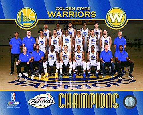 Golden State Warriors 2017 Finals Champions Team Photo (Size: 11