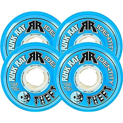 Rink Rat Identity Theft 78A Inline Hockey Skate Wheels - 4 Pack 2014 Color: Blue Size: 72mm Model: DECK : Baby