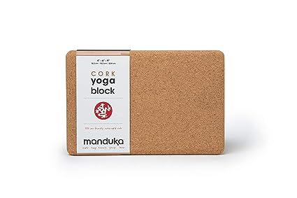 Manduka Cork Yoga Block - - Amazon.com