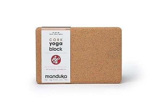 Manduka - Bloque de corcho para yoga: Amazon.es: Bricolaje y ...