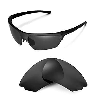37988a554d0 Walleva Replacement Lenses for Rudy Project Noyz Sunglasses - Multiple  Options Available(Black - Polirazed