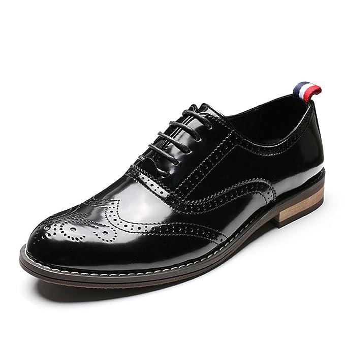 diseñador de moda muy genial 2019 real Zapatos Oxford De Cuero Oxford Para Hombres Zapatos De Boda ...