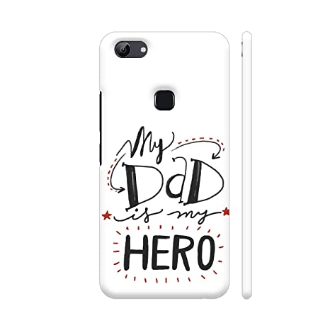 lowest price d451d 24a7b Colorpur My Dad is My My Hero Printed Back Case Cover: Amazon.in ...