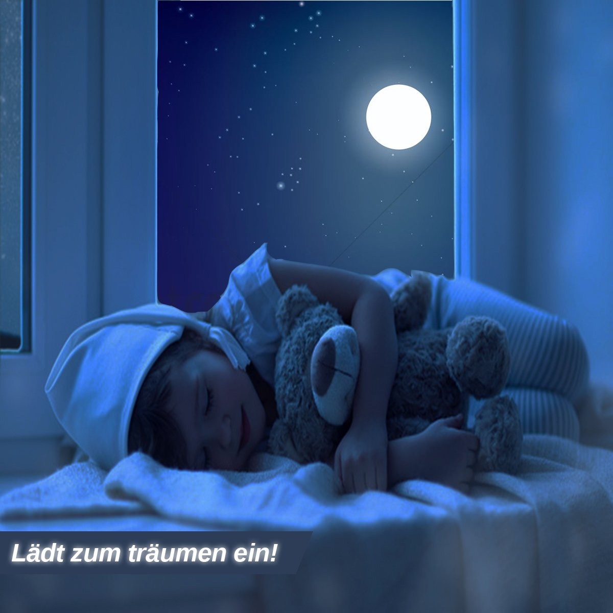 Kinder oder Schlafzimmer Leuchtpunkte Homery Sternenhimmel 300 Leuchtsterne selbstklebend mit starker Leuchtkraft fluoreszierende Leuchtsterne Wandtattoo /& Wanddeko Aufkleber f/ür Baby