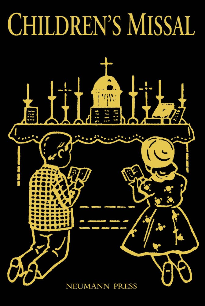Latin Mass Children's Missal - Black ebook