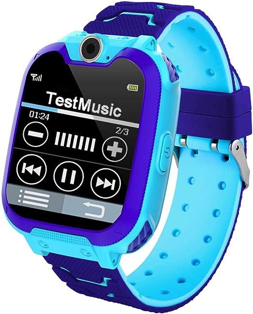 Amazon.com: Reloj inteligente para niños con alarma de audio ...