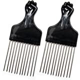 Know black fist comb that