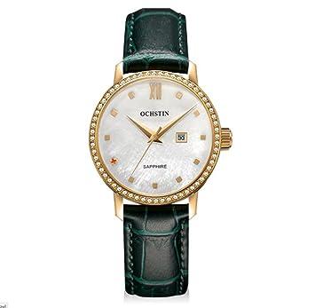 OCHSTIN Reloj suizo mujer reloj de cuarzo impermeable reloj correa , 5: Amazon.es: Deportes y aire libre