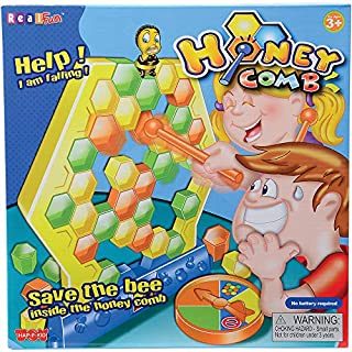 Constructive Playthings HAP-37 Honeycomb Game, Grade: Kindergarten to 3