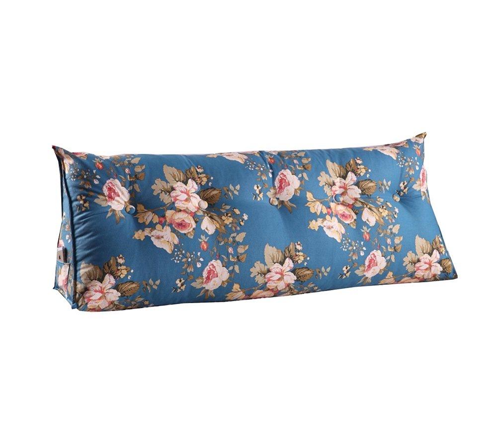 ヨーロピアンスタイルのベッドサイド背もたれトライアングルベッド枕ソファ大きなロングクッション/枕の腰の枕は、クッションを読む (色 : #4, サイズ さいず : 100 * 50 * 22cm) B07DK73Y5H 100*50*22cm|#4 #4 100*50*22cm