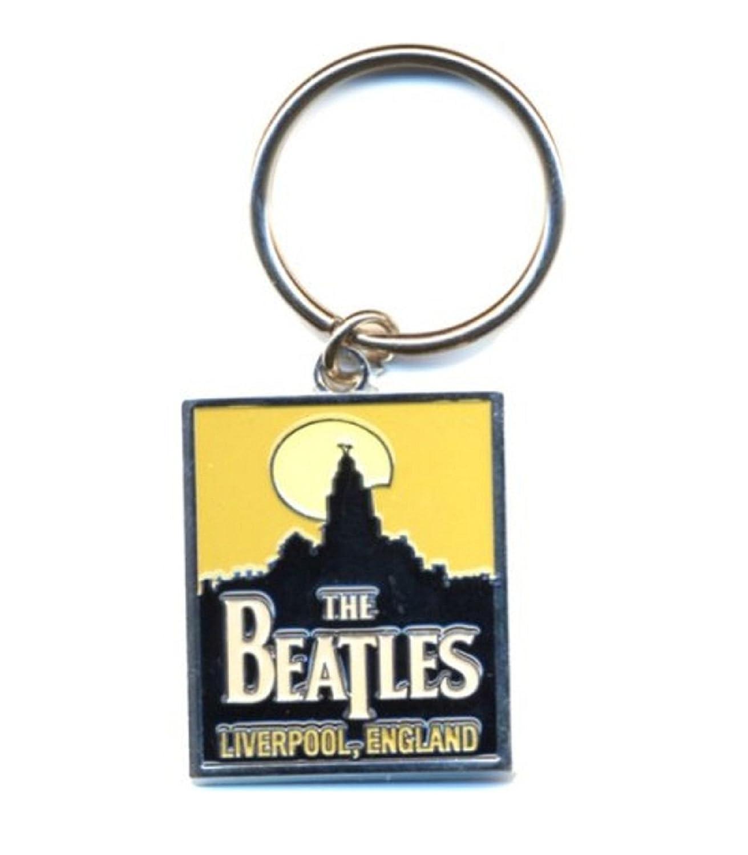 Amazon.com: The Beatles Band llavero Liverpool Skyline Logo ...
