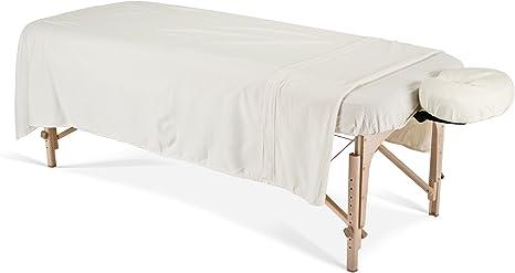 Earthlite 44355 - Juego de sábanas para camilla de masaje, color ...