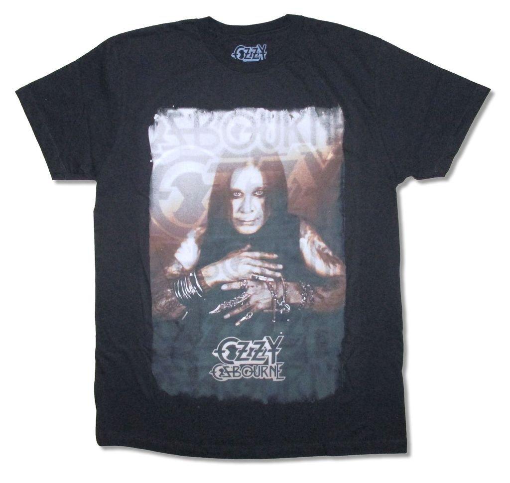 Ozzy Osbourne All The Jewelry Pic Black T Shirt (XS)