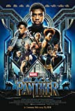 "PosterOffice Black Panther Movie Poster - Size 24"" X 36"" - This is a Certified Print with Holographic Sequential Numbering for Authenticity."