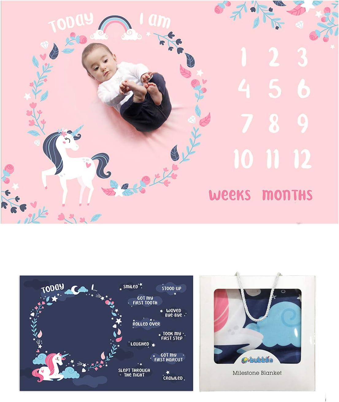 Gender Neutral Milestone Blanket Month Blanket Growth Tracker Minky Fleece Blanket Baby Shower Gift Baby Girl Baby Boy Calligraphy Script