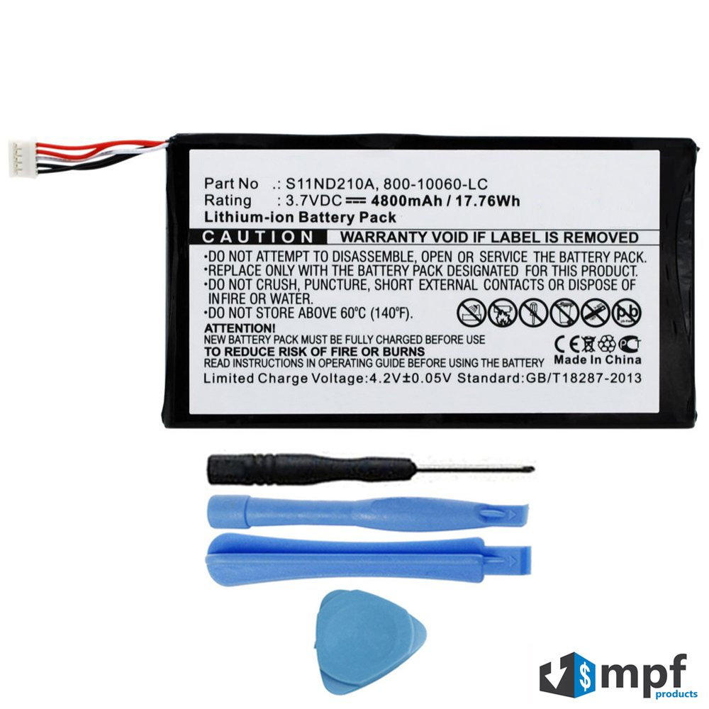 Bateria Tablet S11ND210A 800-10060-LC para Leapfrog Leappad