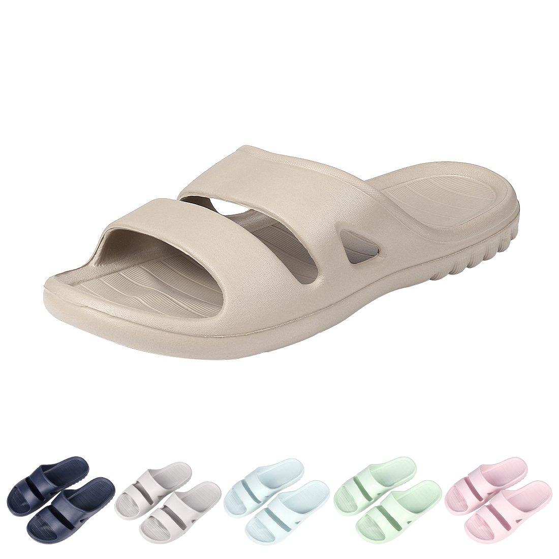 Women's Shower Pool Sandal Slippers Soft Ultra Lightweight Bath Slippers 29CF-L