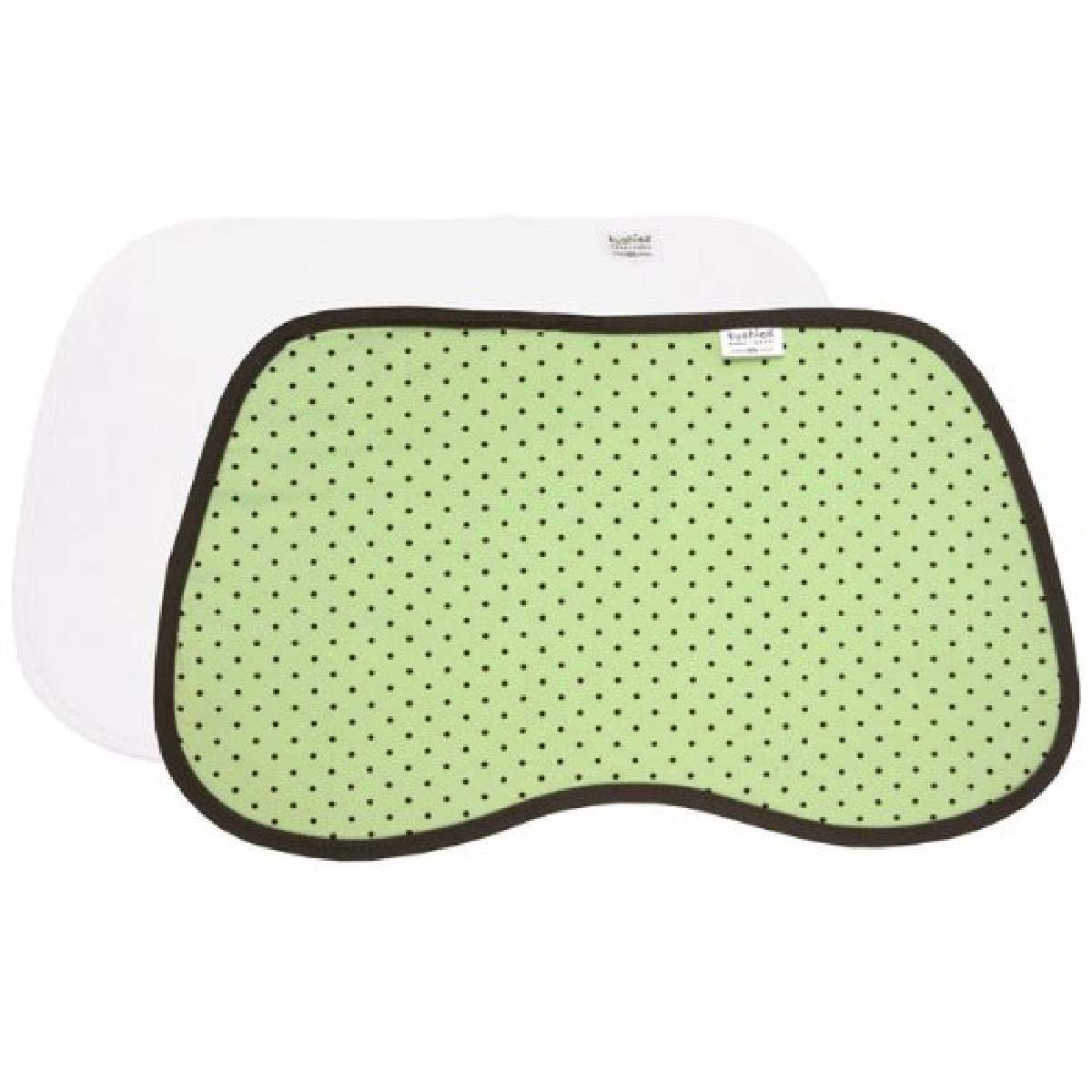 Green Dots Kushies Burp Pads 2-Count