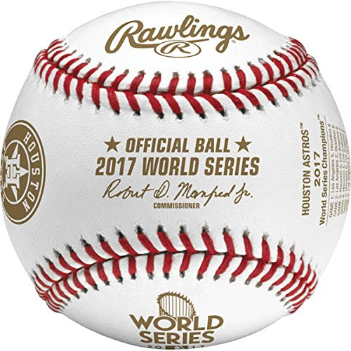 2017 Houston Astros Rawlings Official MLB World Series Champions Baseball (Official Mlb World Series)