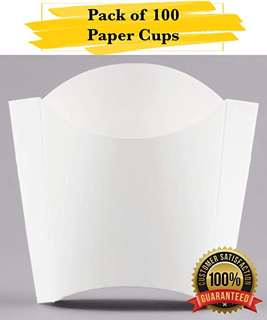 MM Foodservice Newsprint paper cup Newspaper Print French Fry Cup 25
