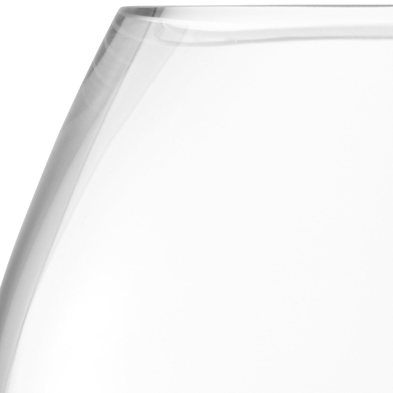 Verre LSA International Fleur Table Vase Clair 11.5 cm Claire
