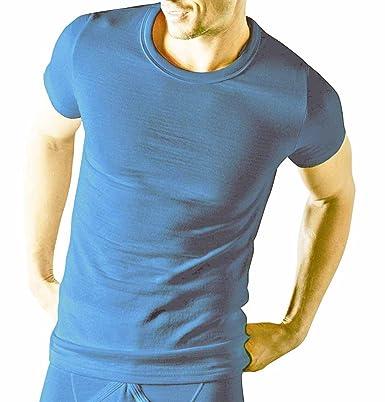 Classic Couche De Base Hommes Thermique T-shirt Manches Courtes Gilet Hiver  Sous-vêtement  Amazon.fr  Vêtements et accessoires 4ca1e1852174