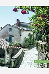 """Rose scented pathway in Tuscany: (Notebook/Journal) (118 x Lined Pages) (8"""" x10"""") (Tuscany Villages Notebook Collection) (Volume 2) Paperback"""