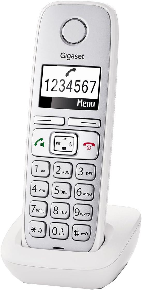 Gigaset E310H - Teléfono supletorio fijo inalámbrico, color blanco (importado): Amazon.es: Electrónica