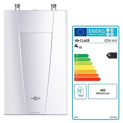 Clage CDX 11-U BASI Tronic, calentador de agua