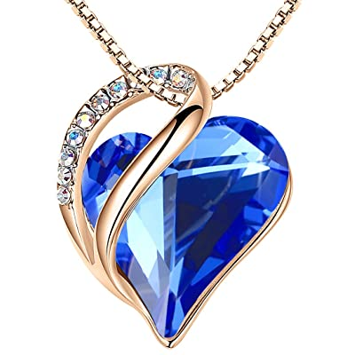 Cobalt Aura Quartz Necklace Eco Friendly Crystal Healing Jewellery Spiritual Gifts Lead and Nickel Free Silver plated Chain