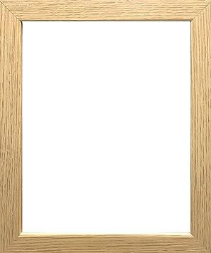 Marco de fotos moderno, con acabado de madera, en varios tamaños,