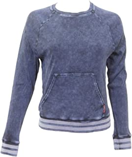 product image for Hard Tail Forever Womens Sport Ribbed Crewneck Pull Over Top Style CS-113