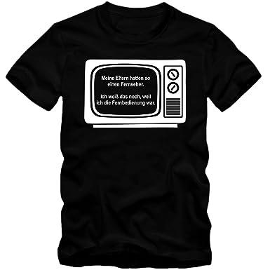 Herren T-Shirt TV Fehrseher Retro Fun Spaß Shirt Tee S-4XL NEU  Amazon.de   Bekleidung 90b821c3a1