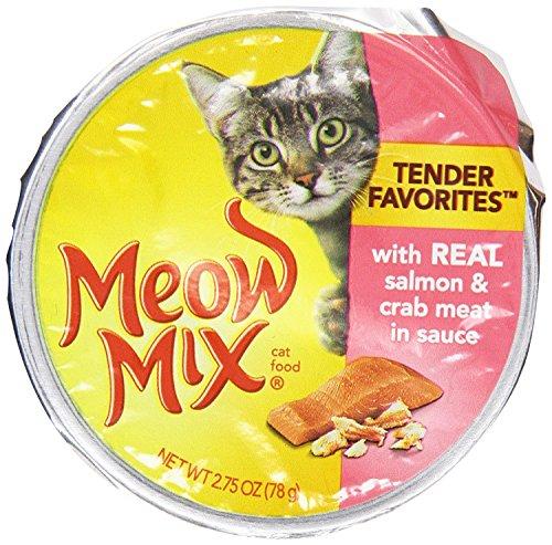 Meow Mix 29274-53228 Market Select Real Salmon & Crab Meow Mix Wet Cat Food