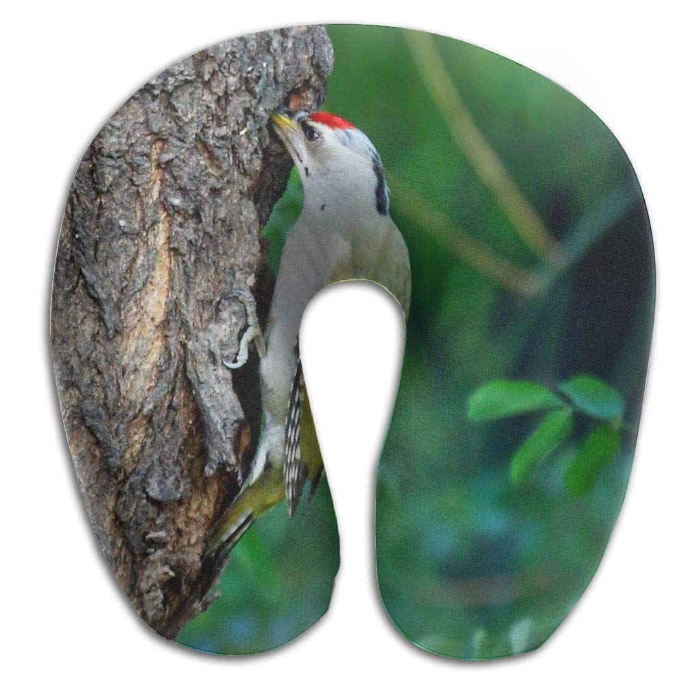 Neck Pillow with Resilient Material Woodpecker Tree Hole U Type Travel Pillow Super Soft Cervical Pillow