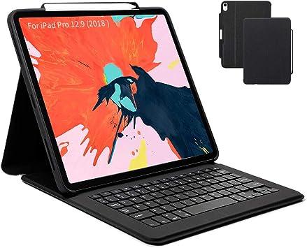 Maxace - Funda con Teclado para iPad Pro de 12,9 Pulgadas ...