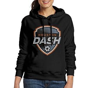 DETO Women's Houston Team Dash Sweatshirt Black