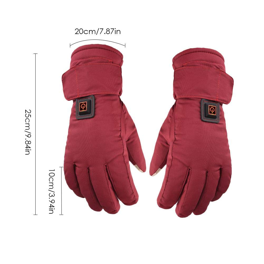 Yunt Electric Heated Gloves,Waterproof Touch Screen Heating Gloves by Yunt (Image #8)