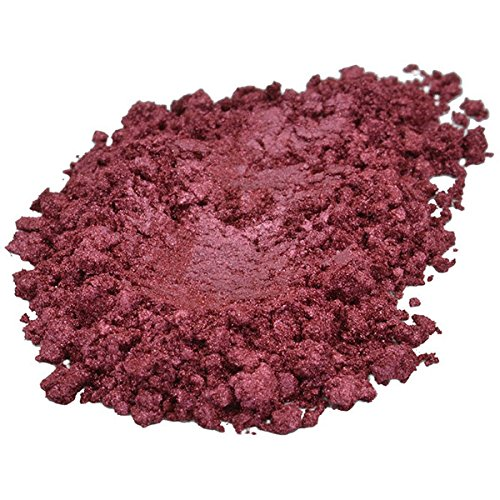 1 Oz BORDEAUX Premium Liquid Gold Mica Pigment Powder Soap C