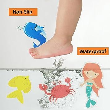 Smallones Pegatinas adhesivas para bañera, impermeables ...